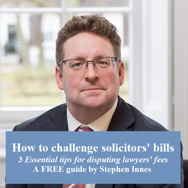 guide to challenging solicitors' bill